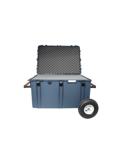 PortaBrace Hard Case with Off-Road Wheels , Foam Interior,