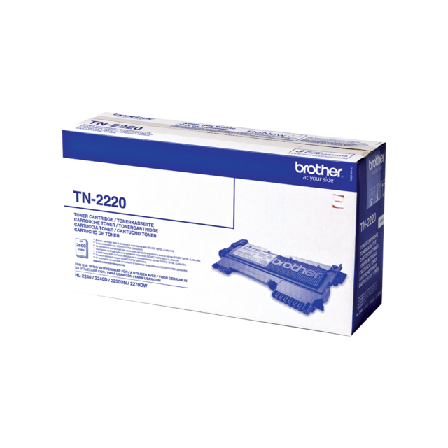 Brother Toner TN2220 svart 2,6K